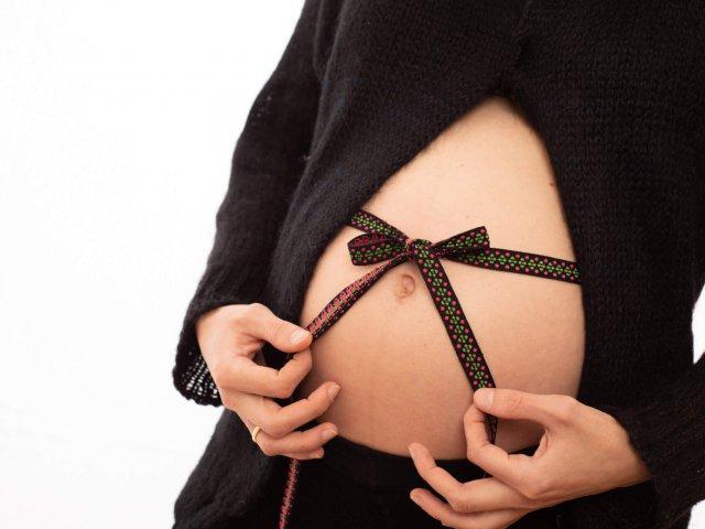 ein Baby ist ein Geschenk was du Langezeit nicht auspacken darfst